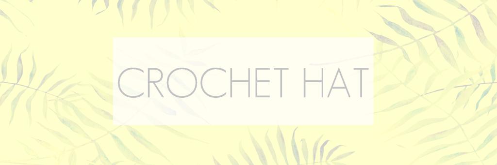 CROCHET HAT - COLORES DE SUDAMERICA