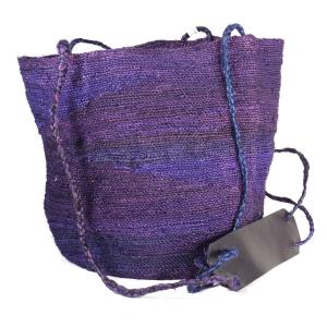 Shigra Bag - Violet & Blue